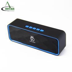 Loa Bluetooth mini, loa di động giá rẻ hỗ trợ thẻ nhớ, FM, USB KING CROWN SC211 – An Tiến