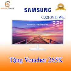 [Tặng Voucher 265K] Màn hình máy tính 32inch Led cong Samsung C32F391FWE – Viễn Sơn phân phối