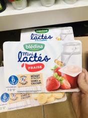 Sữa chua Bledina vị dâu tây 6 tháng 6x60g date 01.2021