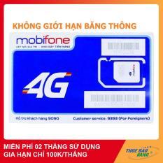 SIM 4G MOBIFONE MAX BĂNG THÔNG KHÔNG GIỚI HẠN DUNG LƯỢNG TỐC ĐỘ CAO, MIỄN PHÍ 60 NGÀY SỬ DỤNG