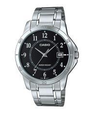 Đồng hồ nam dây thép không gỉ Casio Đại lý Casio Phước Lộc MTP-V004D-1BUDF