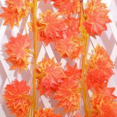 5 sợi dây leo lá phong đỏ giả trang trí