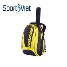 Balo Tennis Babolat mầu vàng đen, balo thể thao chuyên dụng