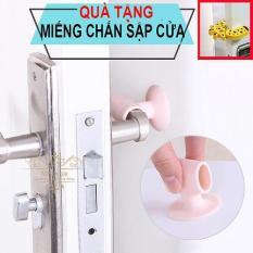 Combo 4 cao su chặn cửa ngăn sập tường, trầy tường, giảm ồn . Tặng 1 chặn cửa kẹp tay