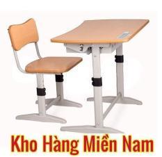 Bộ bàn ghế học sinh cho bé cấp 1 cấp 2 cao cấp giá rẻ hãng nội thất Xuân Hòa BHS 14-06
