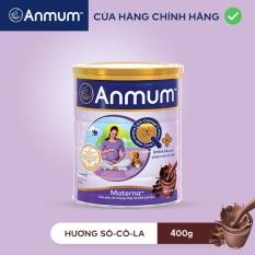 [QUÀ TẶNG KHÔNG BÁN] Sữa bột Anmum Materna hương Sô-cô-la/Vani 400g (Giao hương ngẫu nhiên)