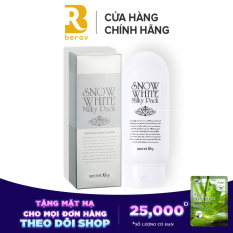 Kem Dưỡng Trắng Da Mặt và Toàn Thân Secret Key Snow White Milky Pack (200ml)