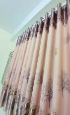 Rèm cửa sổ, cửa phòng ngủ chống nắng giá rẻ, hoạ tiết cây khô 180x200cm TNS-007