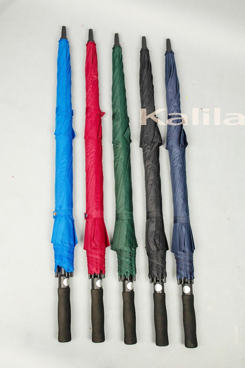Ô Golf 2 Tầng Kalila, Ô Dù cán thẳng chống lật, ô đường kính 150cm, ô dù đi ngoài trời...