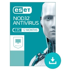 ESET NOD32 Antivirus 1 User 12 Months Subscription Windows