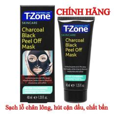 Mặt nạ tẩy da chết T-Zone Charcoal Purifying 75ml Anh Quốc