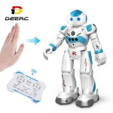 Robot Đồ Chơi Thông Minh DEERC Cho Trẻ Em Bé Trai Robot Điều Khiển Từ Xa Lập Trình Thông Minh Với Cảm Biến Bằng Cử Chỉ Đi Bộ Nói Chuyện Hát Khiêu Vũ Phù Hợp Làm Quà Tặng – intl