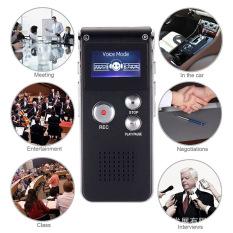 Máy Ghi Âm, Ghi Giọng Nói, Máy Nghe Nhạc MP3 8GB