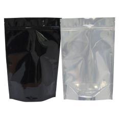 Túi mạ mặt trong mặt Đen zipper 23,5x34cm (ĐVT Kg)