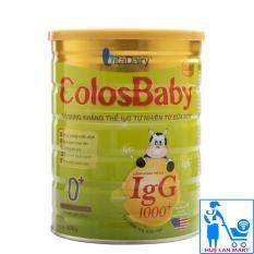 Sữa Bột VitaDairy ColosBaby Gold 0+ Hộp 800g (Bổ sung kháng thể IgG 1000+ tự nhiên từ sữa non; Cho trẻ 0~12 tháng tuổi)