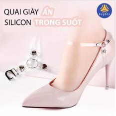 Quai giày cao gót chữ Y, quai giày ẩn silicon trong suốt hỗ trợ mang giày đế cao dễ đi – PK51