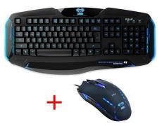Chuột máy tính có dây, bán chuột game, các loại chuột máy tính – Combo bàn phím chuột E-Blue Cobra EKM801 cao cấp, Sản phẩm thịnh hành hiện nay