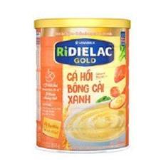 BỘT ĂN DẶM RIDIELAC GOLD CÁ HỒI BÔNG CẢI XANH – HT350G