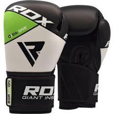 Găng tay boxing RDX BOXING GLOVES REX F11 GREEN