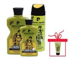 Bộ mỹ phẩm 3 món Play Boy – Pierre Cardin tặng kèm Gel vuốt tóc playboy 150ml