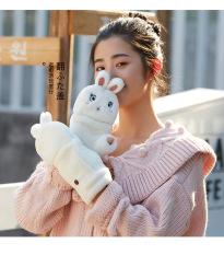 Găng tay Lông Cừu siêu dày, Găng tay tiện lợi họa tiết siêu dễ thương, Bảo hành trọn đời