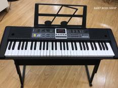 Đàn Piano Đàn Organ Electronic Keyboard Đàn 61 phím Đàn điện âm sắc rõ ràng, vang tốt, trọng lượng nhẹ và dễ sử dụng cho người mới bắt đầu