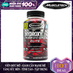 Viên đốt mỡ cực mạnh Hydroxycut Hardcore Elite của MuscleTech hỗ trợ đốt mỡ giảm cân tăng sức bền sức mạnh vượt trội cho người tập gym và chơi thể thao – thuc pham chuc nang