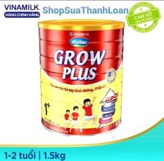 [HSD T1-2023] COMBO 2 HỘP SỮA BỘT DIELAC GROW PLUS 1+ 1,5KG (CHO TRẺ TỪ 1 – 2 TUỔI)