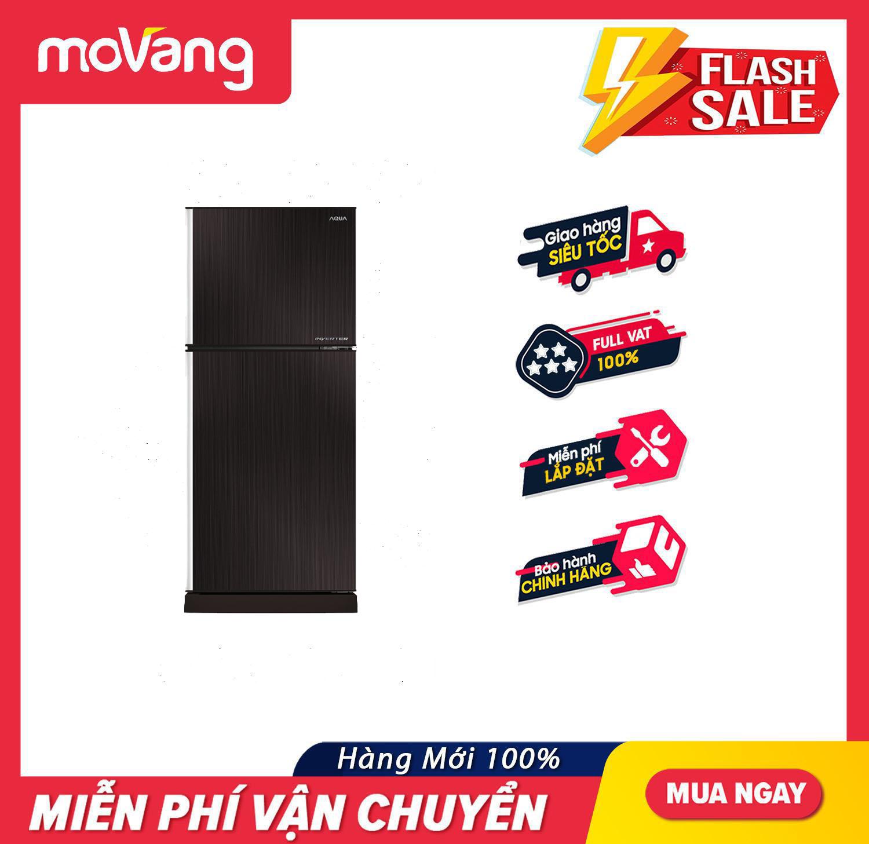 [TRẢ GÓP 0%] Tủ Lạnh AQUA Inverter 204 Lít AQR-I227BN.DC – Tủ Lạnh Inverter Công nghệ Multi Flow làm lạnh đa chiều