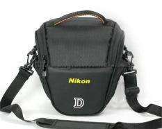 Túi TAM GIÁC đeo hông chống sốc máy ảnh canon nikon sony trơn vách dầy có ngăn phụ