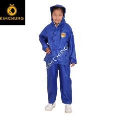 Áo mưa bộ trẻ em, vải dù cao cấp siêu bền, không có mùi khó chịu như áo mưa vải nhựa ( Bé Từ 3-10 tuổi)