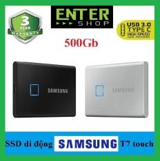[Trả góp 0%]Ổ Cứng Di Động SSD Samsung T7 Touch non touch 500Gb – 1TB USB Type-C 3.2 Gen 2