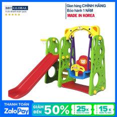 Cầu trượt xích đu Hàn Quốc 4 trong 1 CHD101 – cầu trượt, đồ chơi trẻ em, do choi tre em