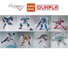 Daban Mô Hình Lắp Ráp HG Core Gundam 8 Màu Mercone Veetwo Earthree Marsfour Jupitive Saturnix Uraven Nepeight 1/144 Đồ Chơi Anime