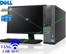 [Trả góp 0%]Bộ máy tính để bàn pc case Dell chip Intel i7/ i5/ i3 sản phẩm trọn bộ đã bao gồm màn hình dùng cho văn phòng làm việc học tập trường học tặng kèm usb wifi(cắm điện là dùng)