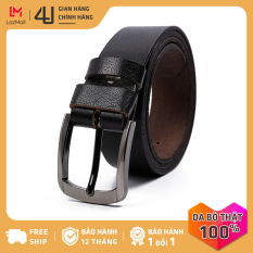 Thắt lưng dây nịt nam da bò 4U phong cách sang trọng cổ điển T196D28