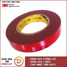 Băng keo cường lực siêu dính 3M khổ 12mm x 3m 4229P-3m Dmall247 độ bám dính và đàn hồi tốt, khả năng kết dính cao