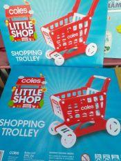 XE ĐẨY siêu thị kiêm luôn xe đẩy tập đi cho bé COLES