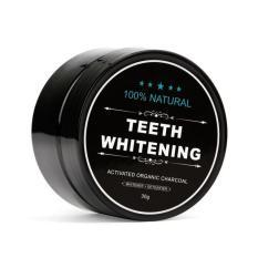 Bột than tre hoạt tính làm trắng răng