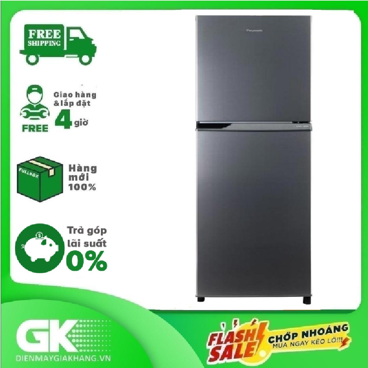 Ả GÓP 0% – Tủ lạnh Panasonic Inverter 234 lít NR-BL26AVPVN – Bảo hành 12 tháng