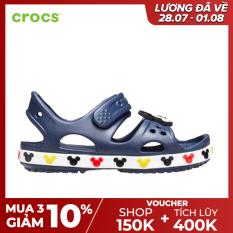 CROCS Giày Sandal Trẻ Em Funlab CB Minnie 206171
