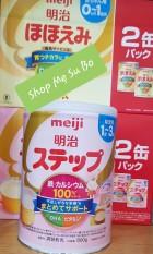 Sữa Nhật Meiji mẫu mới 2021 (cho bé từ 1 tuổi – 3 tuổi). [HÀNG NHẬP KHẨU CHÍNH HÃNG – CÓ TEM PHỤ TIẾNG VIỆT – DATE 2022]. Shop SuBo