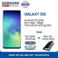 Điện thoại Samsung Galaxy S10 – 8GB RAM – 128GB ROM – 6.1 inch – – Android điện thoại thông minh