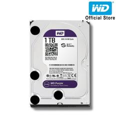 Ổ cứng HDD WD Purple 1TB 3.5 inch SATA III 64MB Cache 5400rpm WD10PURZ