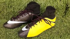 Giày đá bóng sân cỏ nhân tạo( cao cổ AZ) COMBO tặng túi thể thao trị giá 40k