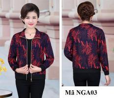 Áo khoác trung niên 1 lớp mỏng nhẹ nhàng NGA01 NGA02 NGA03 NGA04