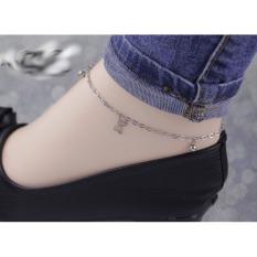 Lắc chân inox nữ nhiều kiểu