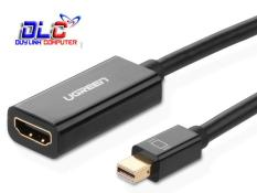 Cáp Mini DisplayPort/ThunderboltTM to HDMI (âm) UGREEN 10461 hỗ trợ 1080P cho Macbook Pro, iMac, Mac