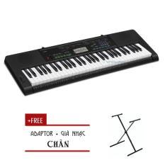 Đàn Organ Casio CTK-3400 kèm AD – Chân ( CTK3400) – HappyLive Shop