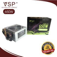Nguồn VSP 650W Full Box – Kèm Dây Nguồn Bảo Hành 24 tháng